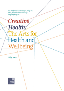 Creative Health: The Arts, Health and Wellbeing