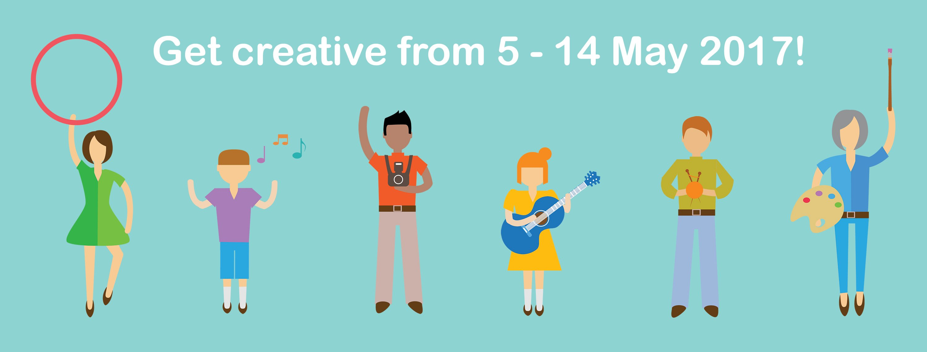 Voluntary Arts Festival 2017 - Get creative from 5 - 14 May 2017!