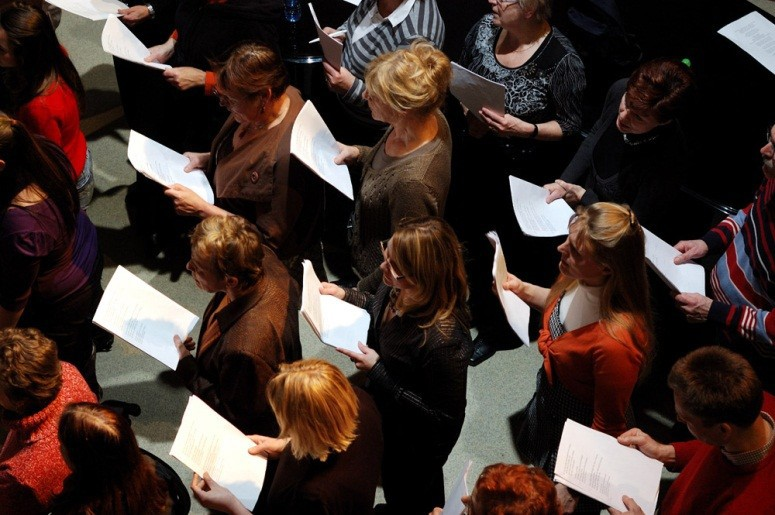 Creative People and Places - choir