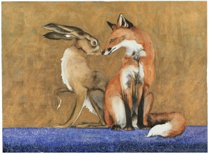 Jackie Morris - The Space between the Fox and the Hare
