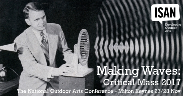 Making Waves - Outdoor Arts conference