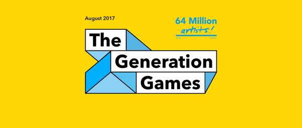 The Generation Games by 64 Million Artists