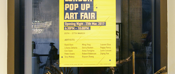 London Pop Up Art Fair