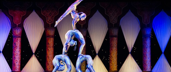 acrobats in circus
