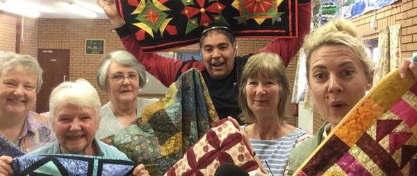Get Creative Weekend - Quilters with BBC Radio Bristol