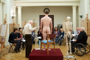 Silver Sunday Life Drawing Event, Royal Collection Trust (PM)
