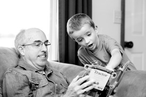 Storytime for children and their Grandparents