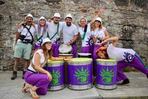 Bloco Garman- Brazilian percussion group