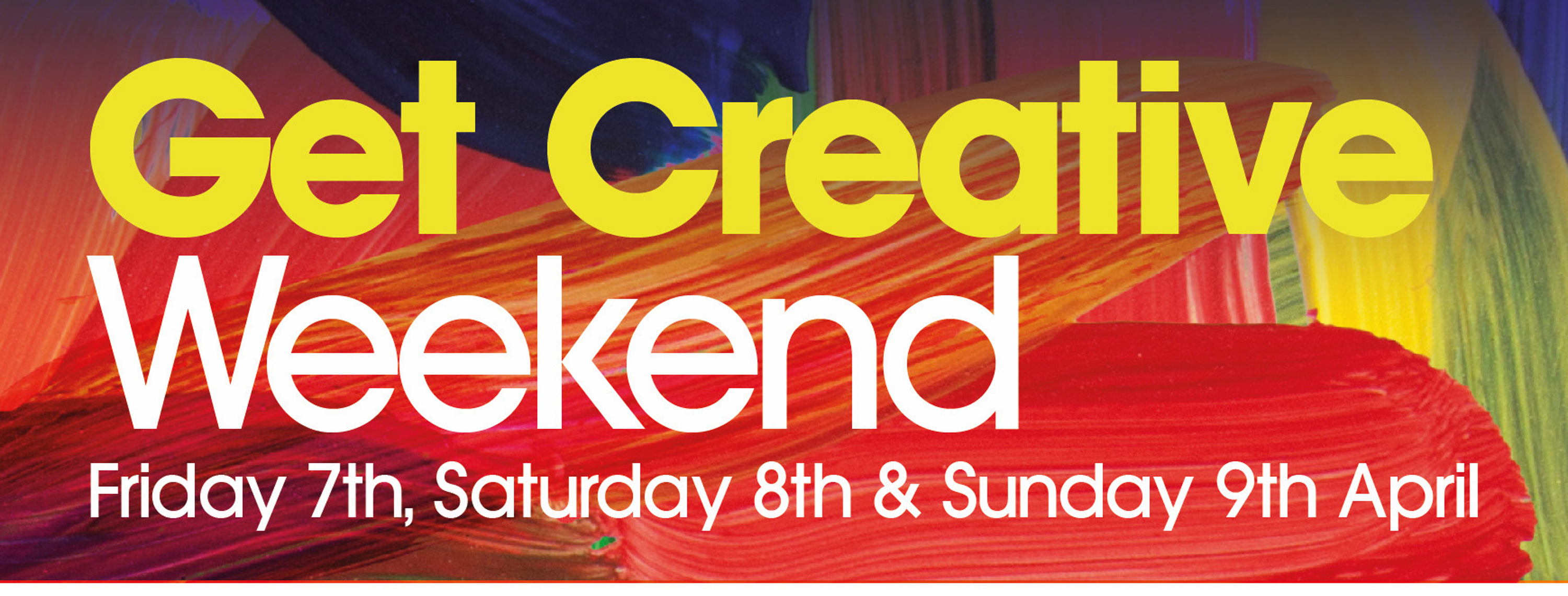 Get Creative Weekend 2017