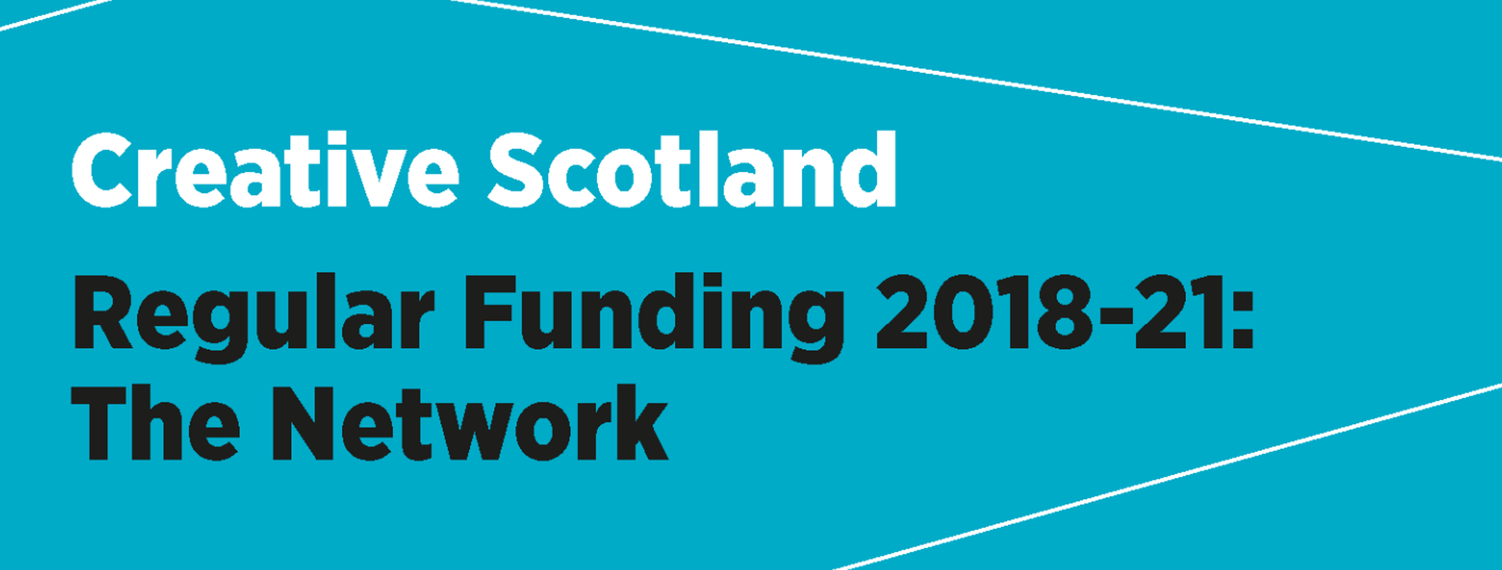 Creative Scotland RFO funding 2018-21