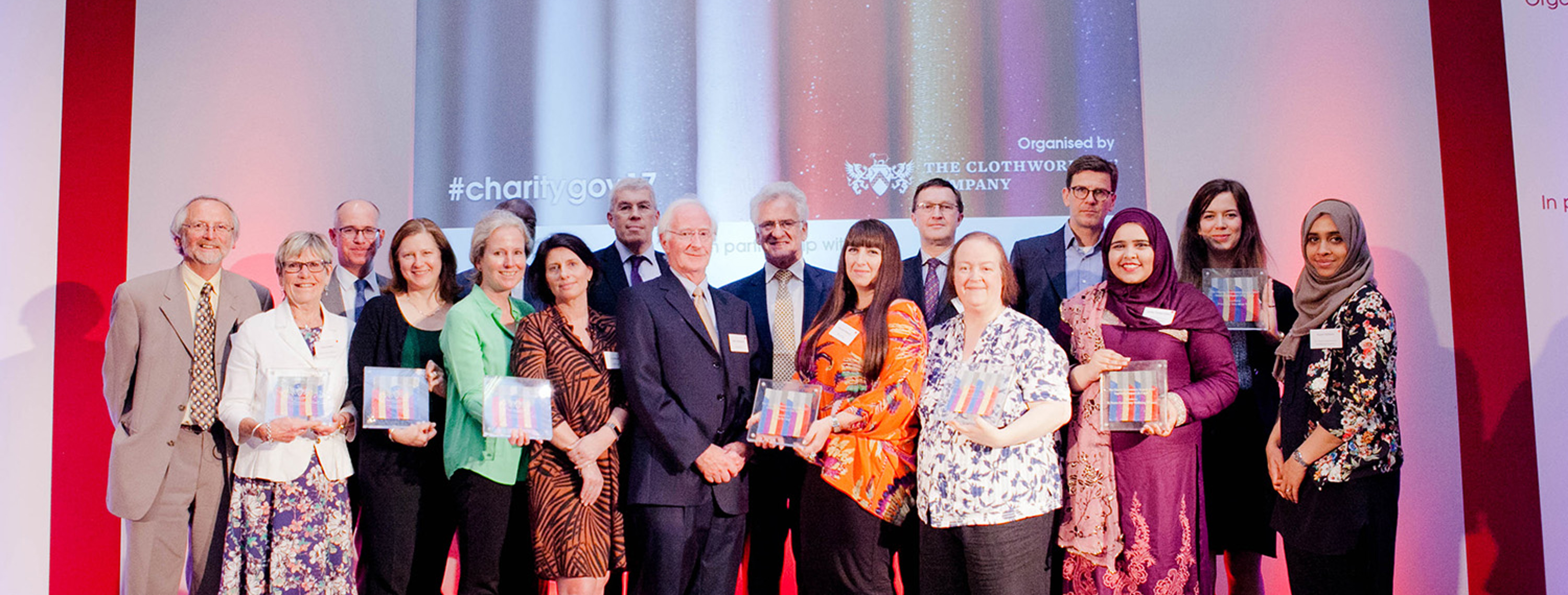 Charity Governance Awards 2017 winners