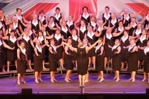 The Belles of Three Spires choir