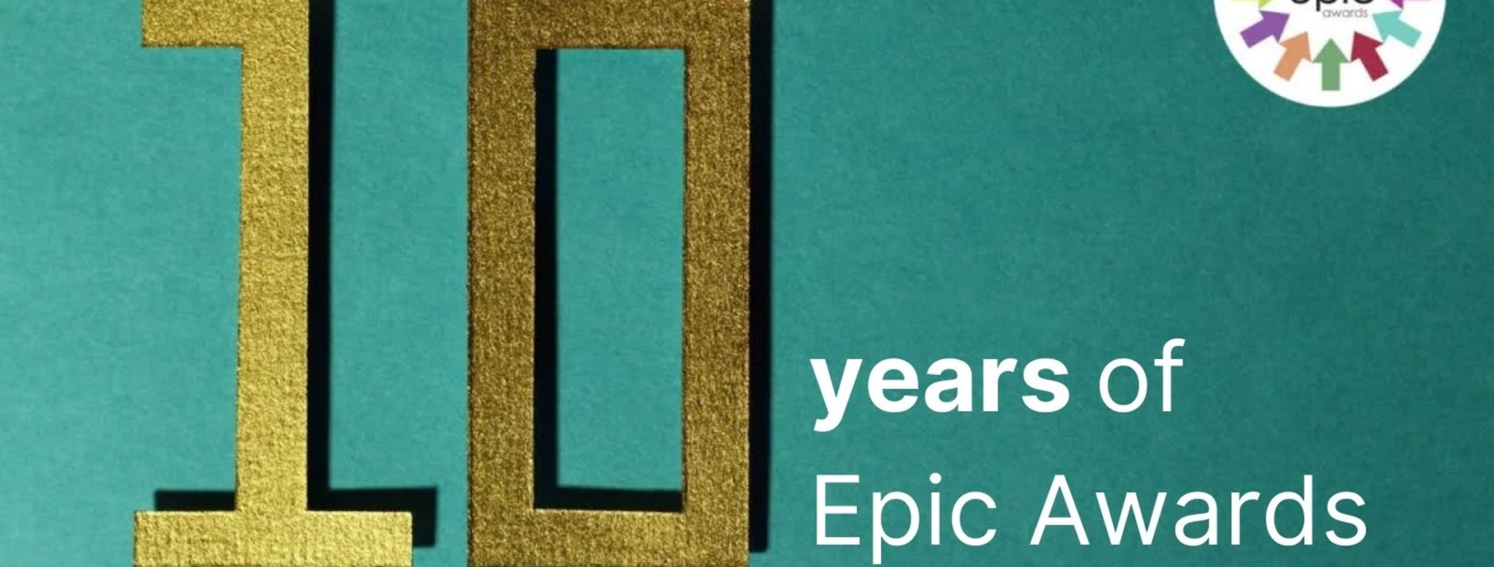 Epic Awards 2020 celebration
