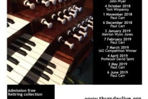 Thursday Live - Free Organ Recital