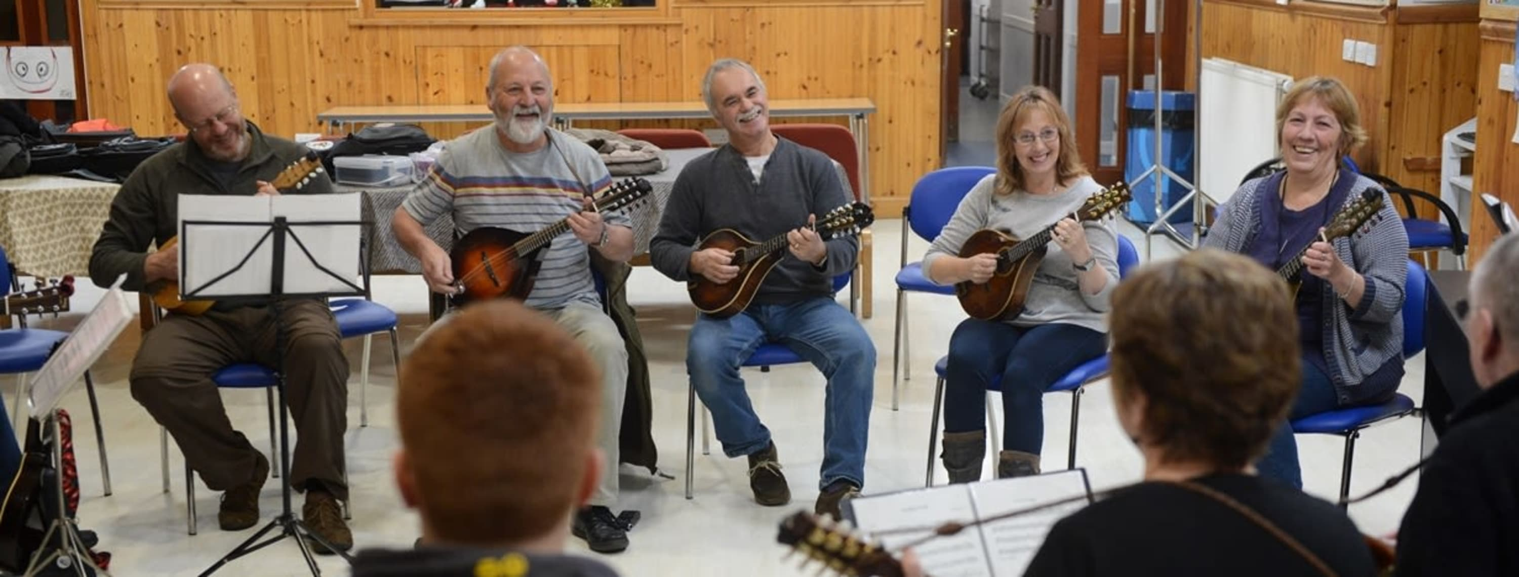 Introducing . . . Shetland Mandolin Band