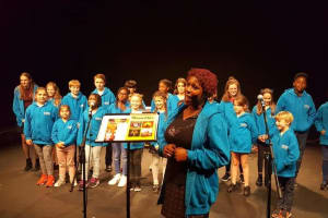 Have a go with Harpur day with Fusion Youth Choir