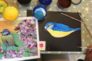 Dementia Friendly Intergenerational Art & Social Group