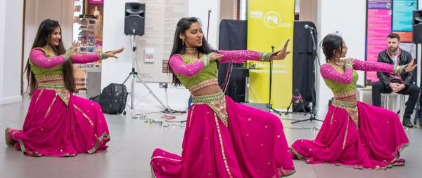 Get Creative - South Asian Dance at Createathon, Ulster Museum, 2017