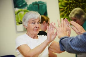 Creative Dance in a Wiltshire Care Home