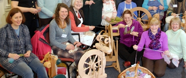 Looms, yarns, coffee and chat . . . we meet the Weavers, Spinners and Dyers